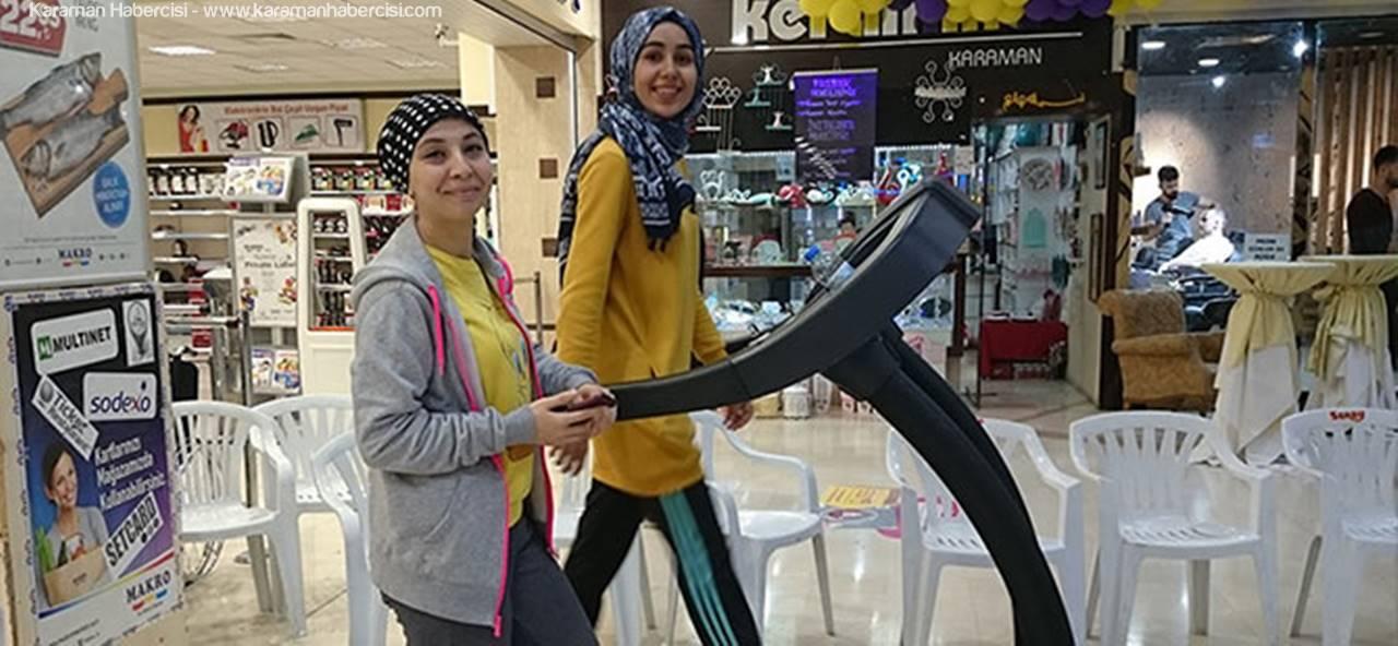 KMÜ Öğrencilerinden Sağlıklı Yaşam Etkinliği