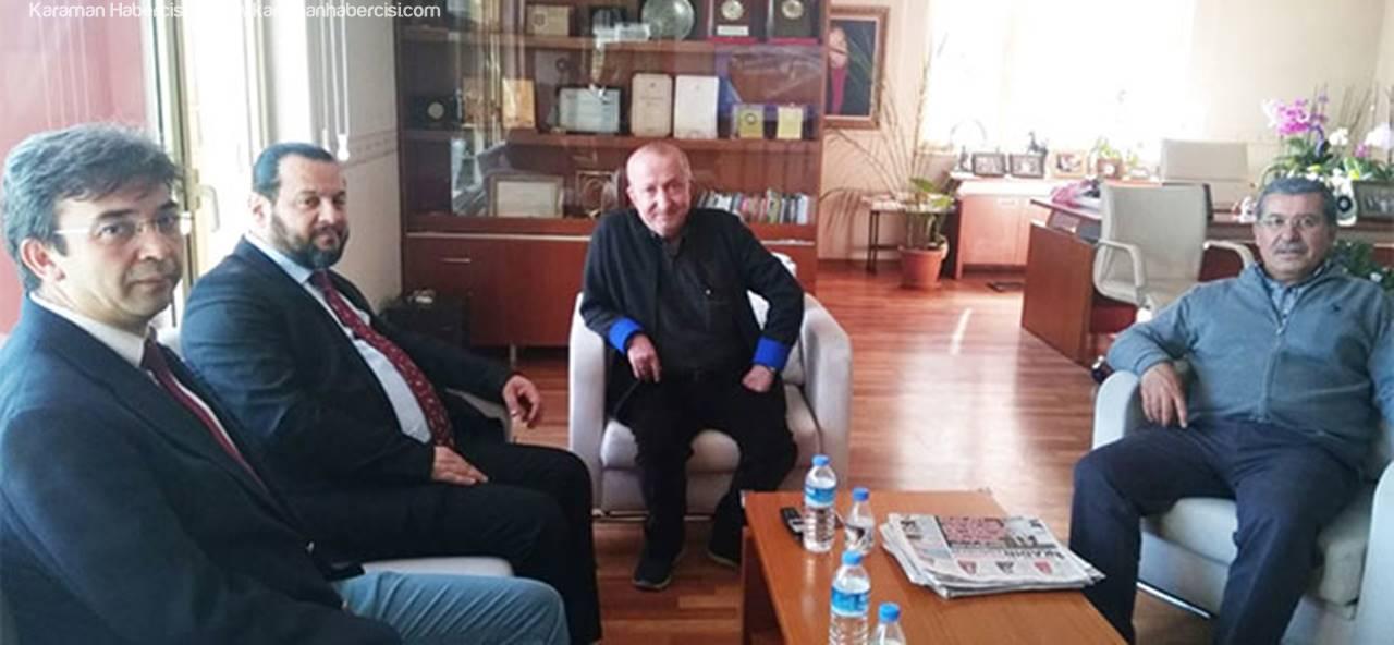 Rektör Akgül'den Bifa'ya Ziyaret