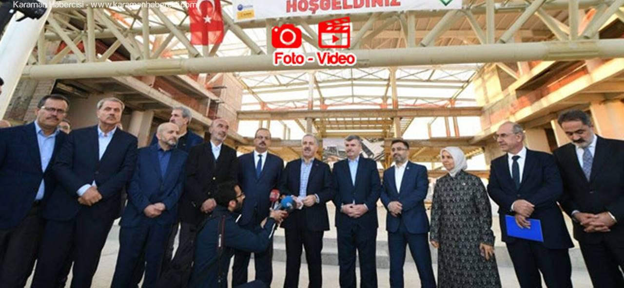 Bakan Arslan Karaman Konya Hızlı Treni İçin Konuştu
