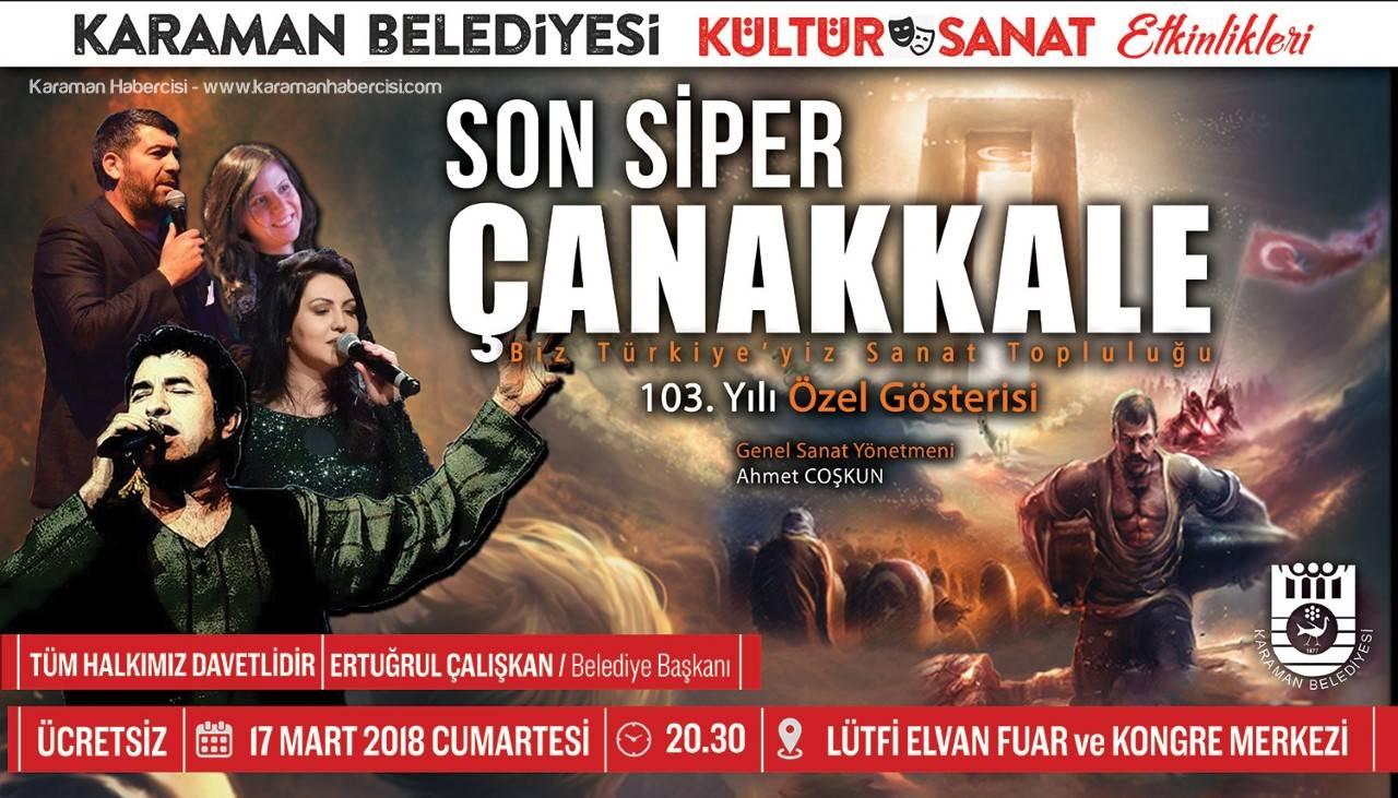 Karaman Belediyesinden Bir Tiyatro Gösterisi Daha