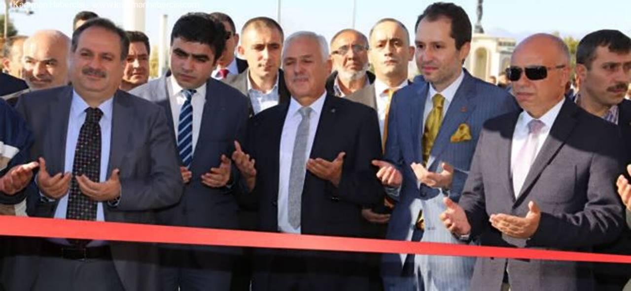 Dr. Fatih Erbakan, Babasının İsmini Taşıyan Parkın Açılışını Yaptı