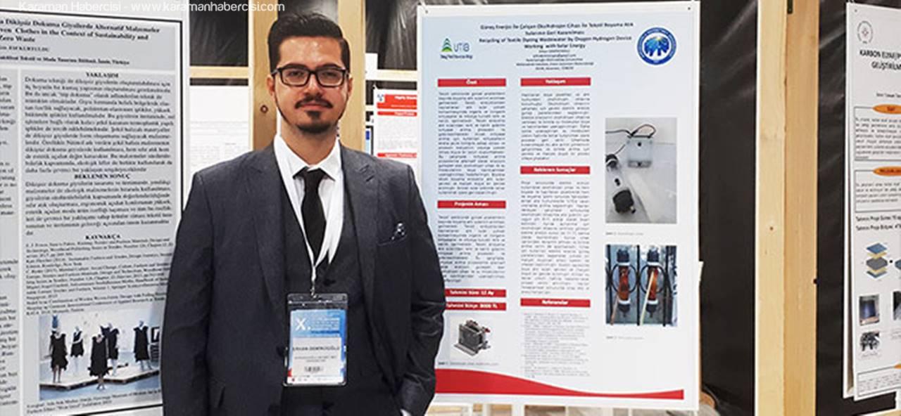 KMÜ Öğrencisi Demircioğlu'ndan Uluslararası Proje Başarısı