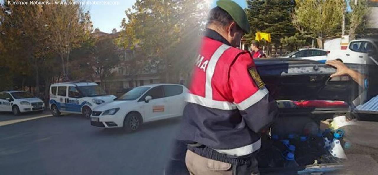 Karaman'da Kolluk Güçlerinden Sıkı Yönetim