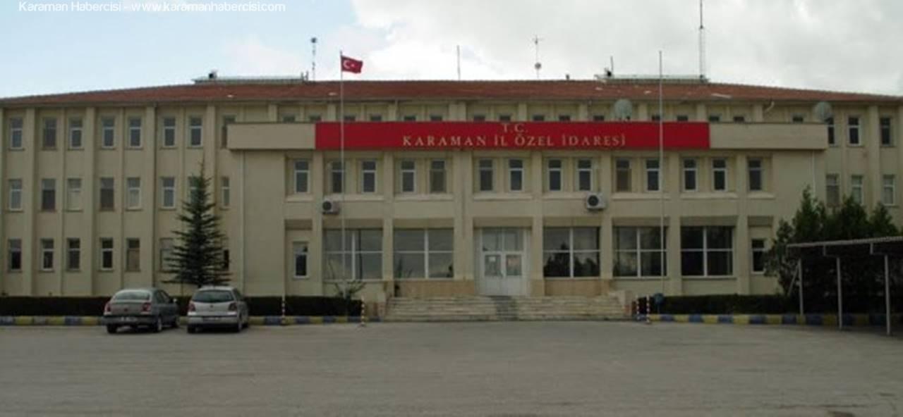 Karaman İl Özel İdaresinde Taşeronlarına Kadro Şoku!