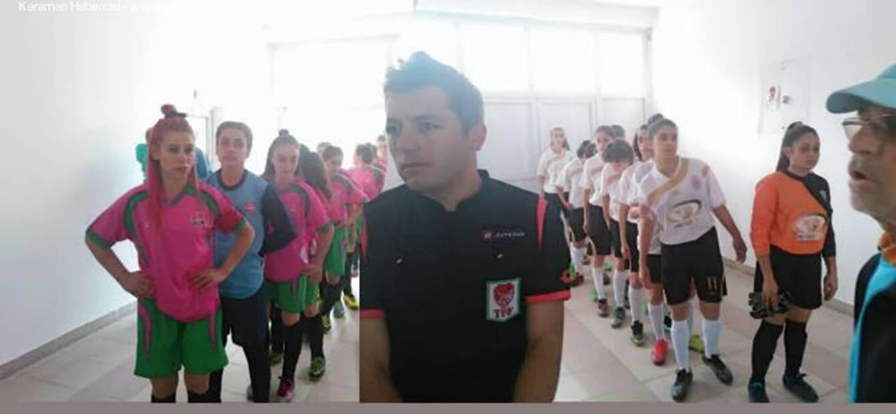 Yunuskentspor Bayan Takımı Karaman'da İlk Maçını Kazandı