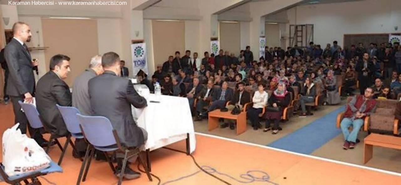Karaman'da 166 Adet TOKİ Konutları İçin Kura Çekilişi Yapıldı