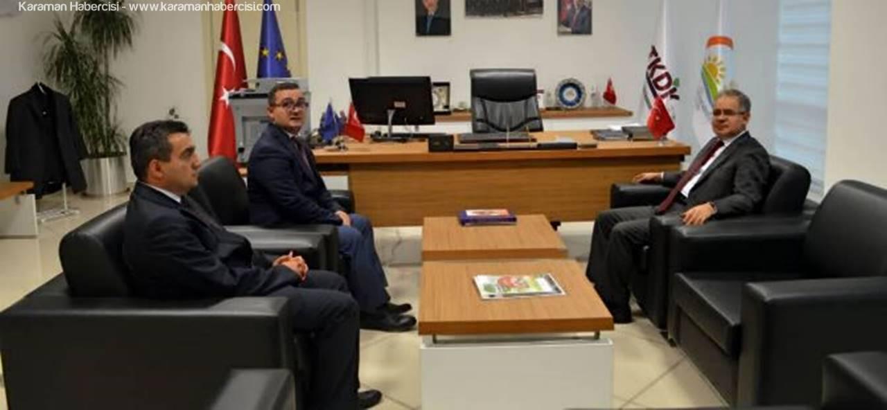 Vali Tapsız'dan TKDK İl Koordinatörlüğüne Ziyaret