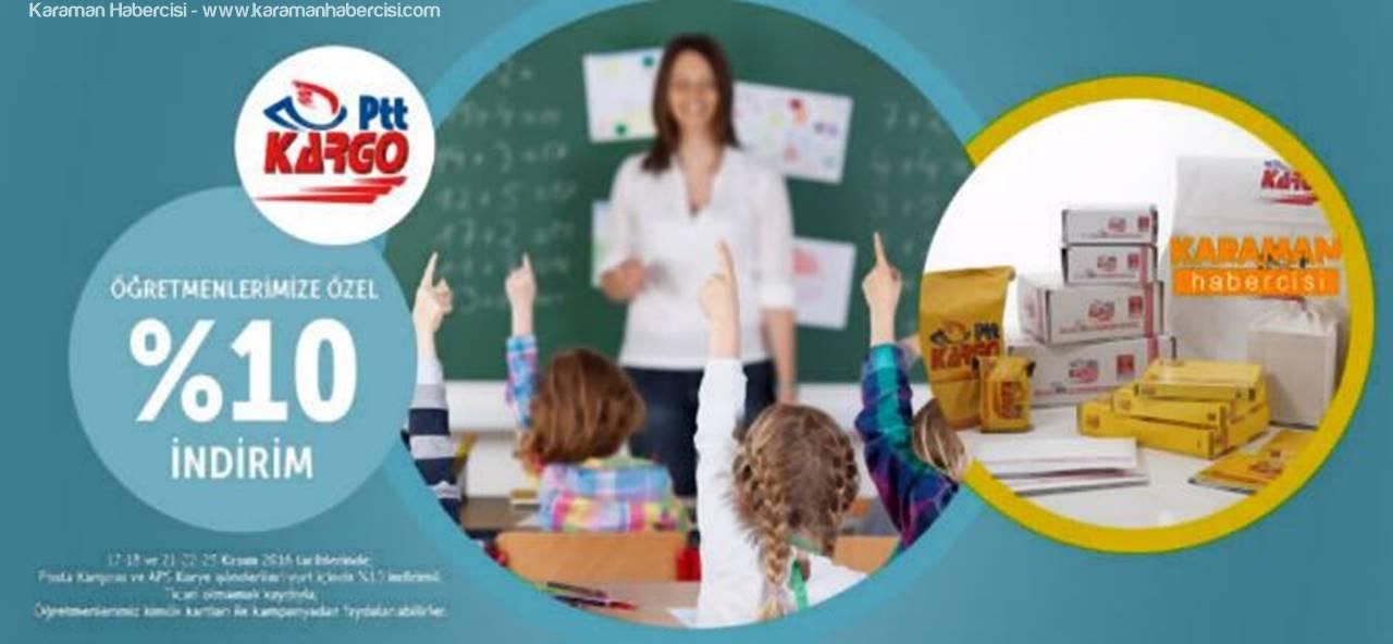 PTT'den  Öğretmenler Günü İçin Özel Kampanya