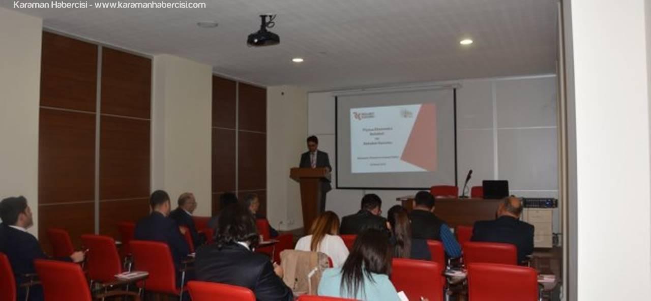 Karaman'da Rekabet Anlatıldı