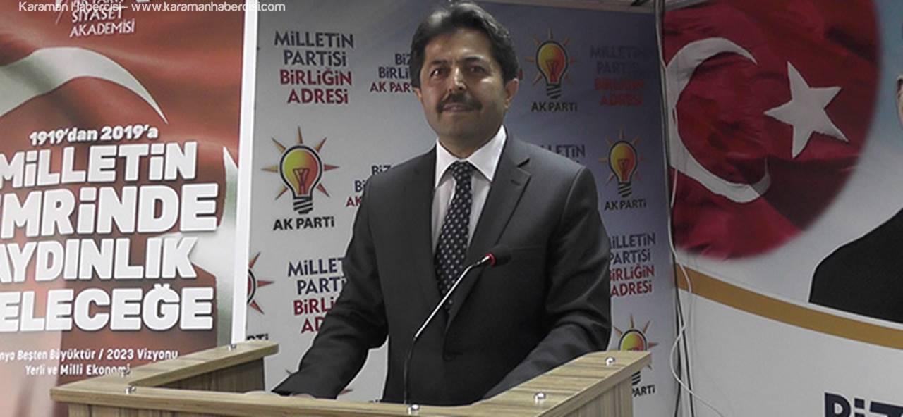 Bakanlar Kurulu Genel Sekreteri Osman Sağlam Karaman'dan Aday Adayı