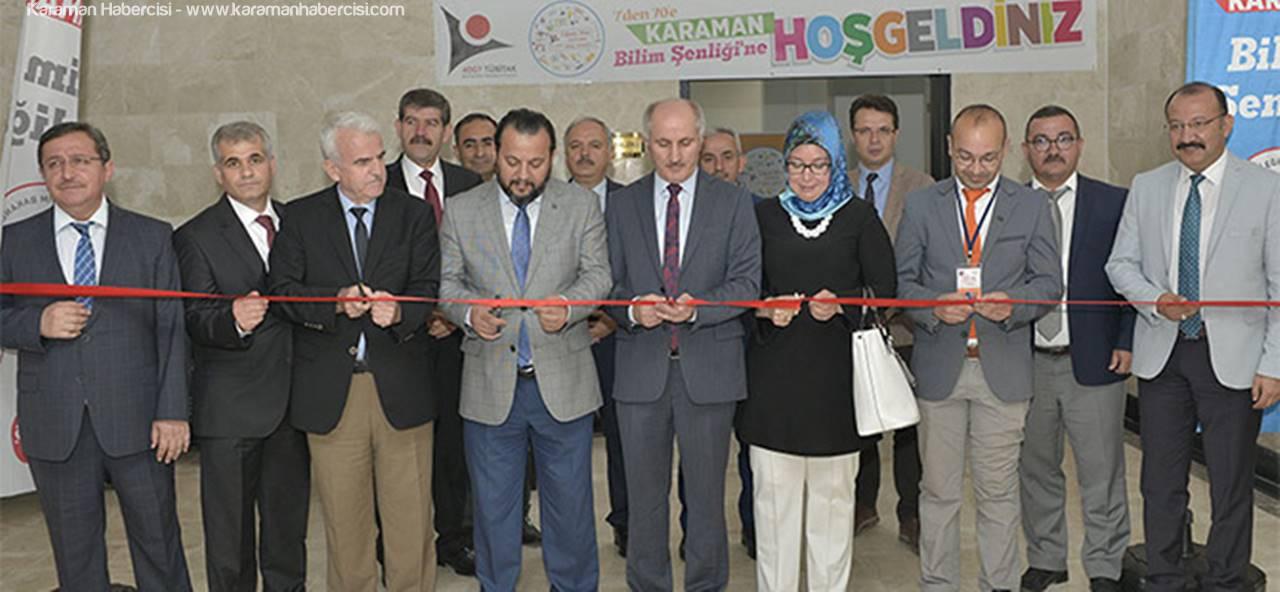 Rektör Bilim Şenliklerinin Açılış Törenine Katıldı
