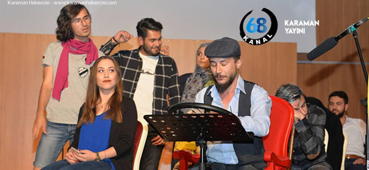 Skeçlerle Tiyatro Etkinliği Bugün Kanal 68'de