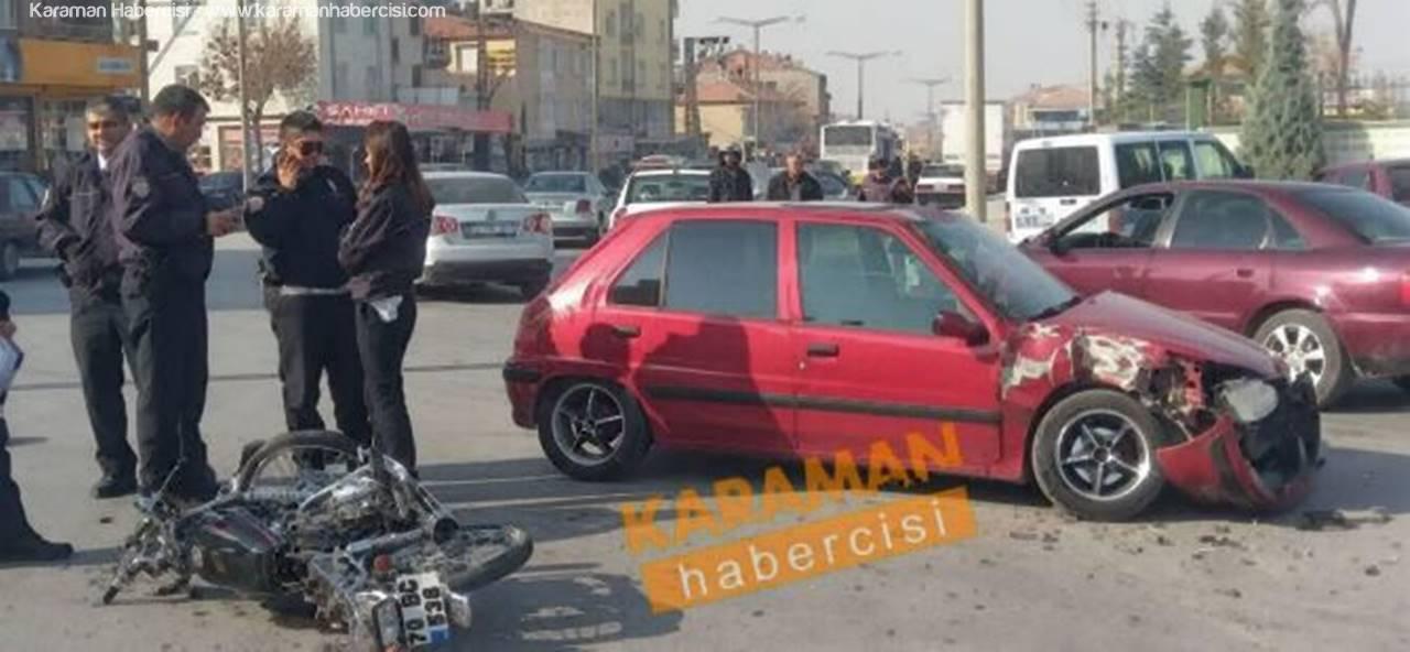 Karaman'da Kazalar HIZ Kesmiyor!