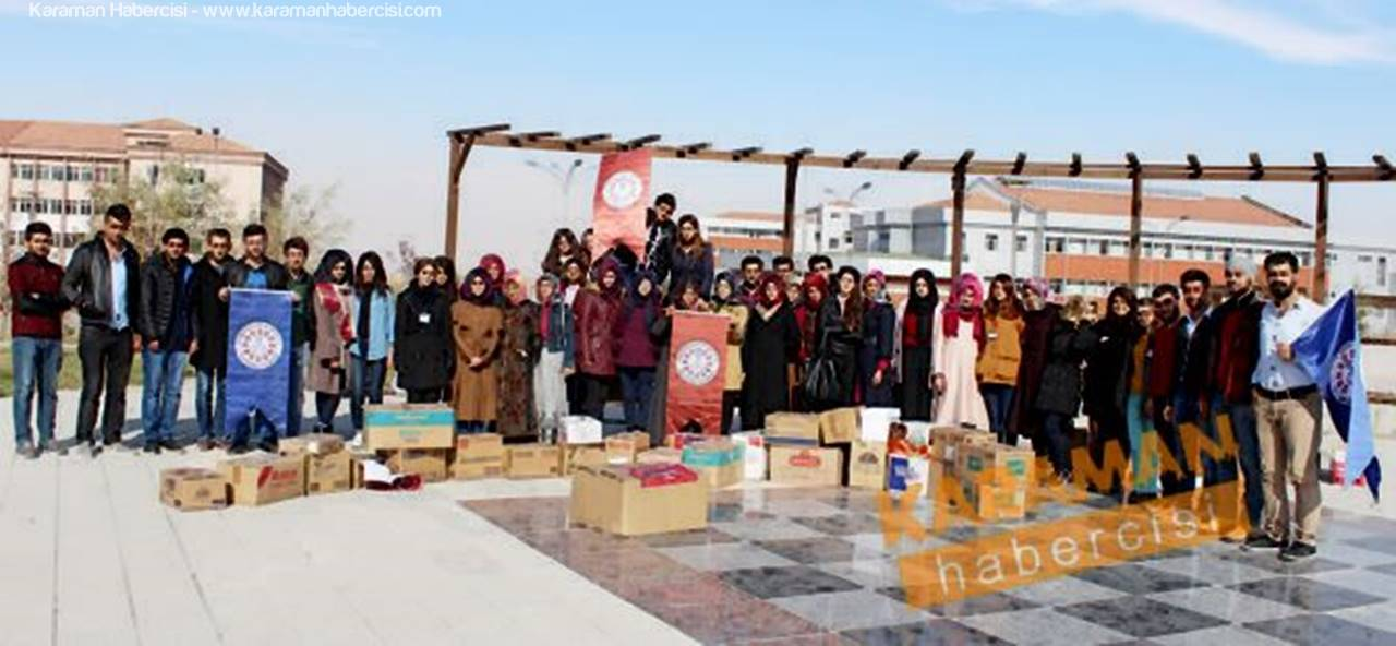 Karamanoğlu Mehmetbey Üniversitesi Öğrencileri, Onları Unutmadı!