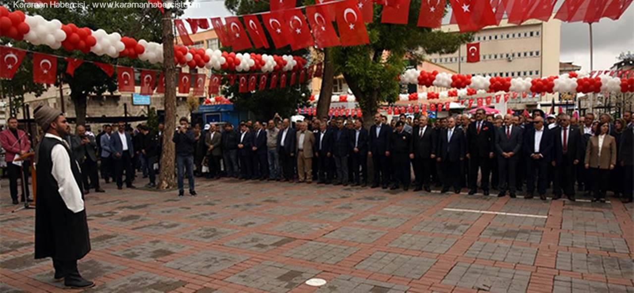 Karaman 741. Türk Dili Bayramı Ve Yunus Emre'yi Anma Etkinlikleri