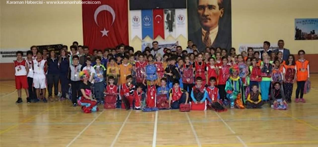 Karaman'da Altın Bilekler Basketbol Şöleni