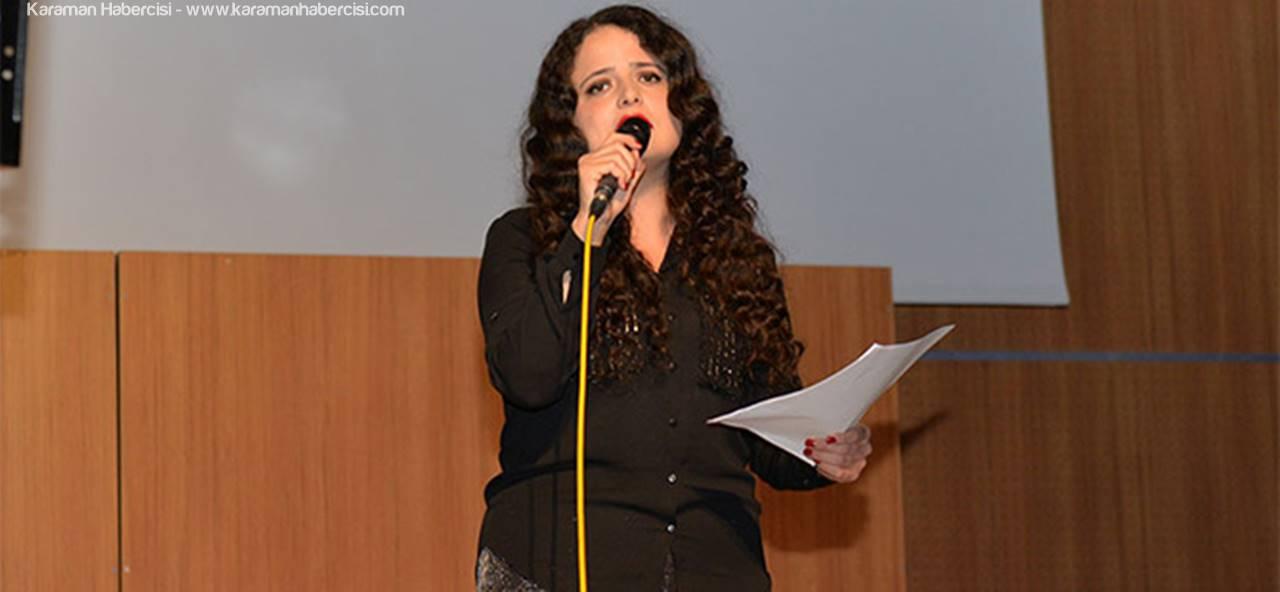 KMÜ'de Tiyatral Şiir Dinletisi