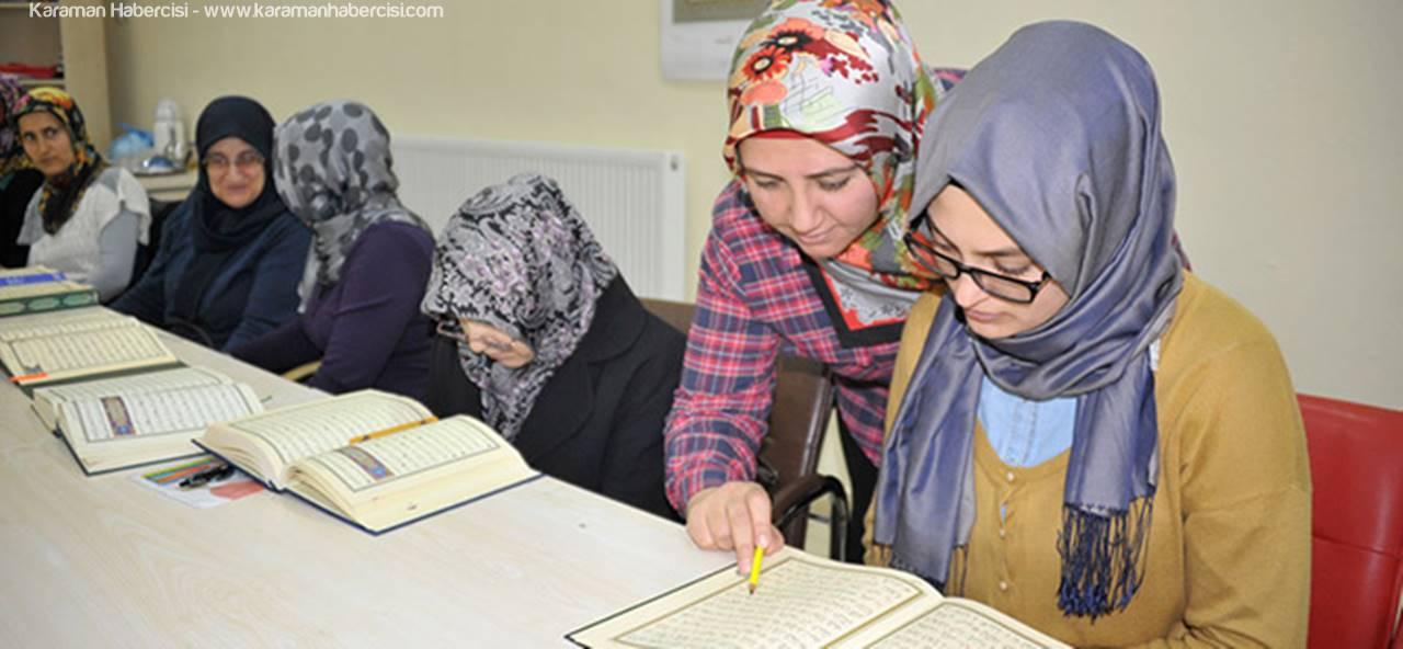 Kadın Ve Aile Hizmetleri'nden Ramazan Ayı'nda Mukabele