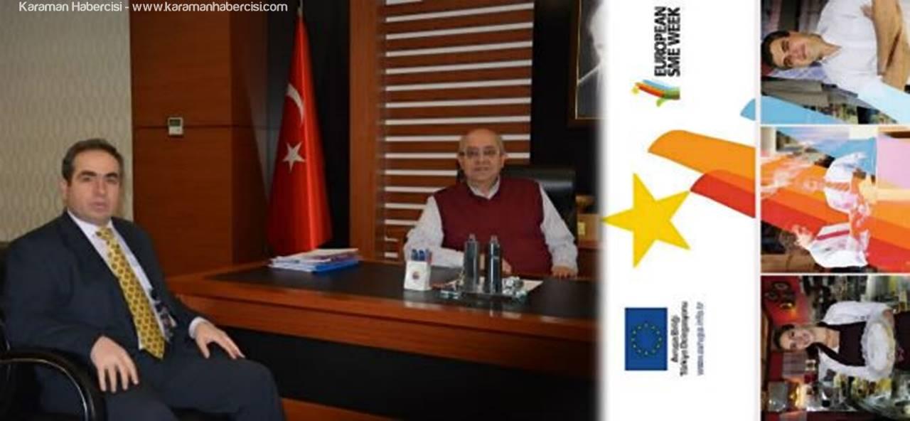 Karaman'da Kobi Haftası Faaliyetleri