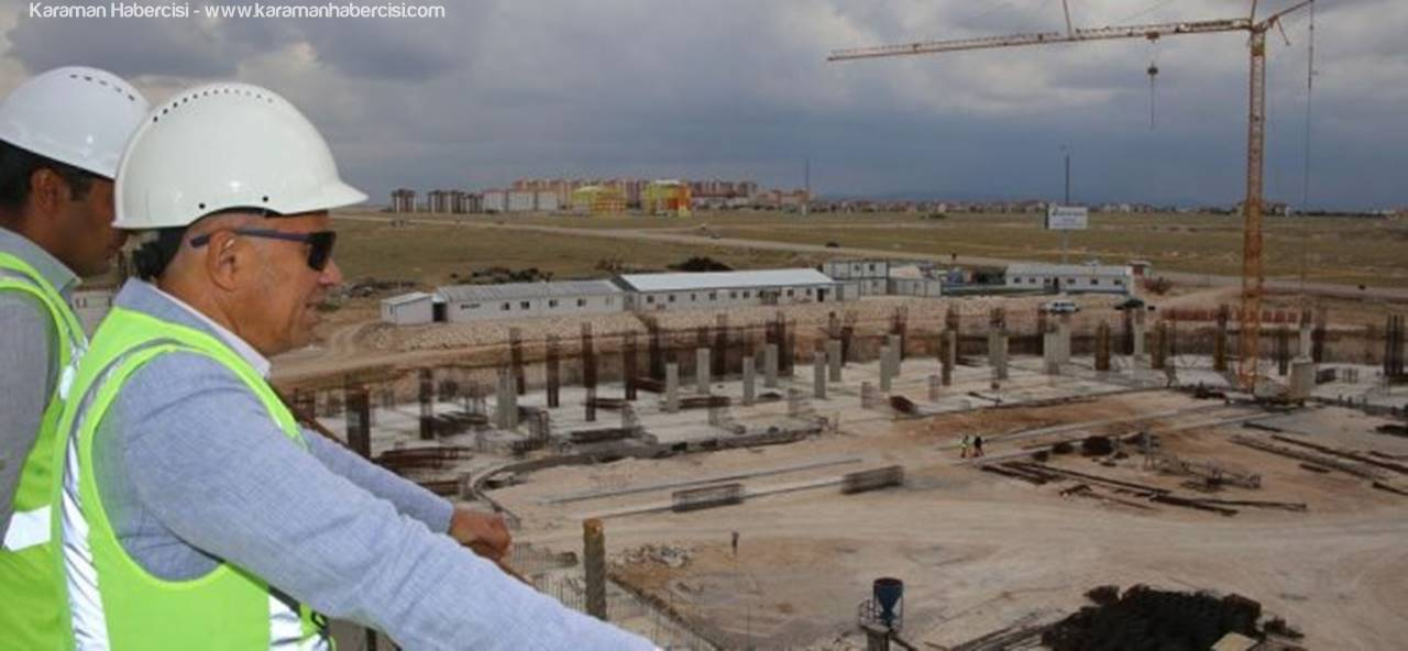 Karaman'da Şahane Bir Stadyum Yükseliyor! Ya Takım?