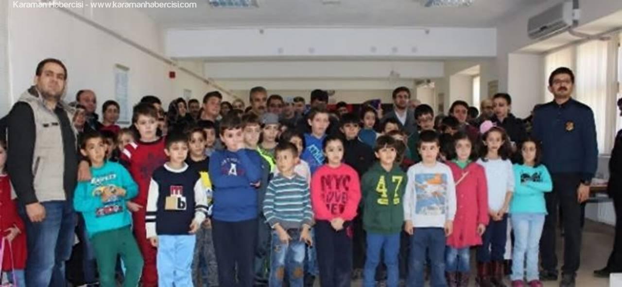 Karaman'da Düzenlenen Küçükler Satranç Turnuvası Sona Erdi