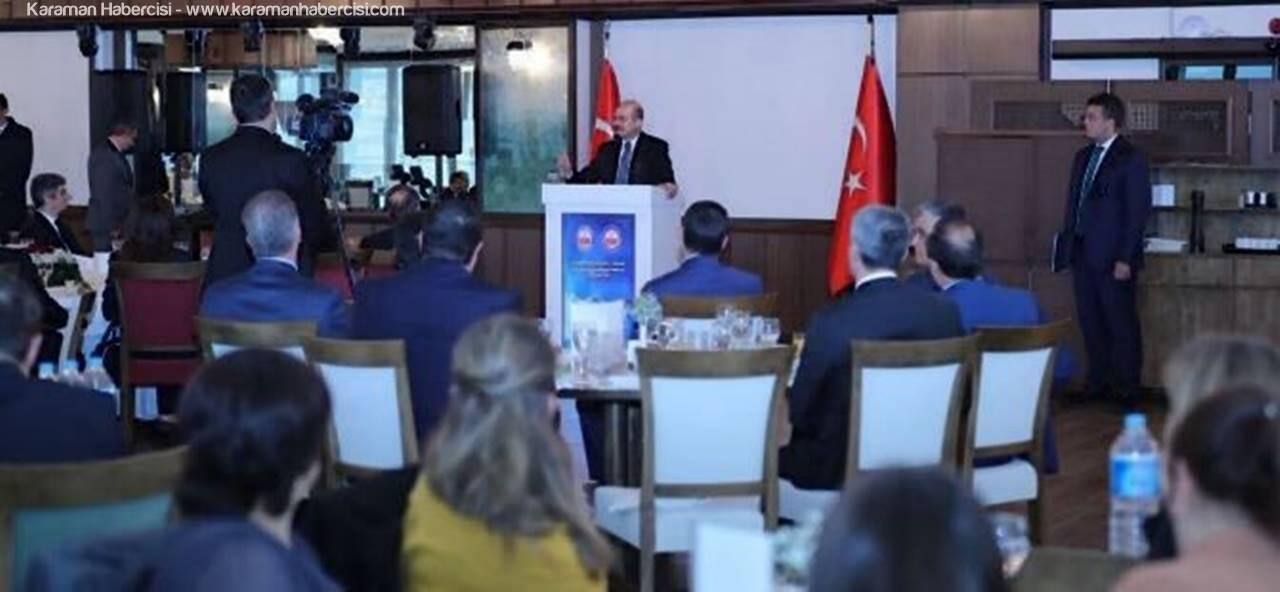 Vali Süleyman Tapsız, Vilayetler Hizmet Birliğinin 43. Olağan Birlik Meclis Toplantısında