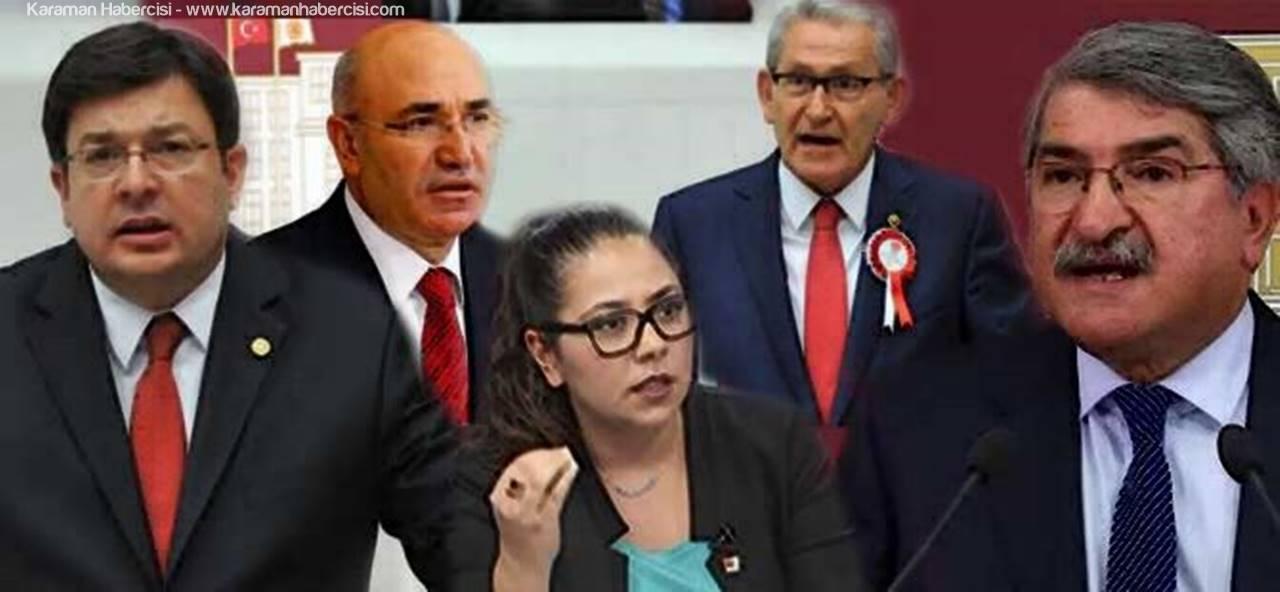 CHP'li Vekiller Bugün Karaman'da Olacaklar