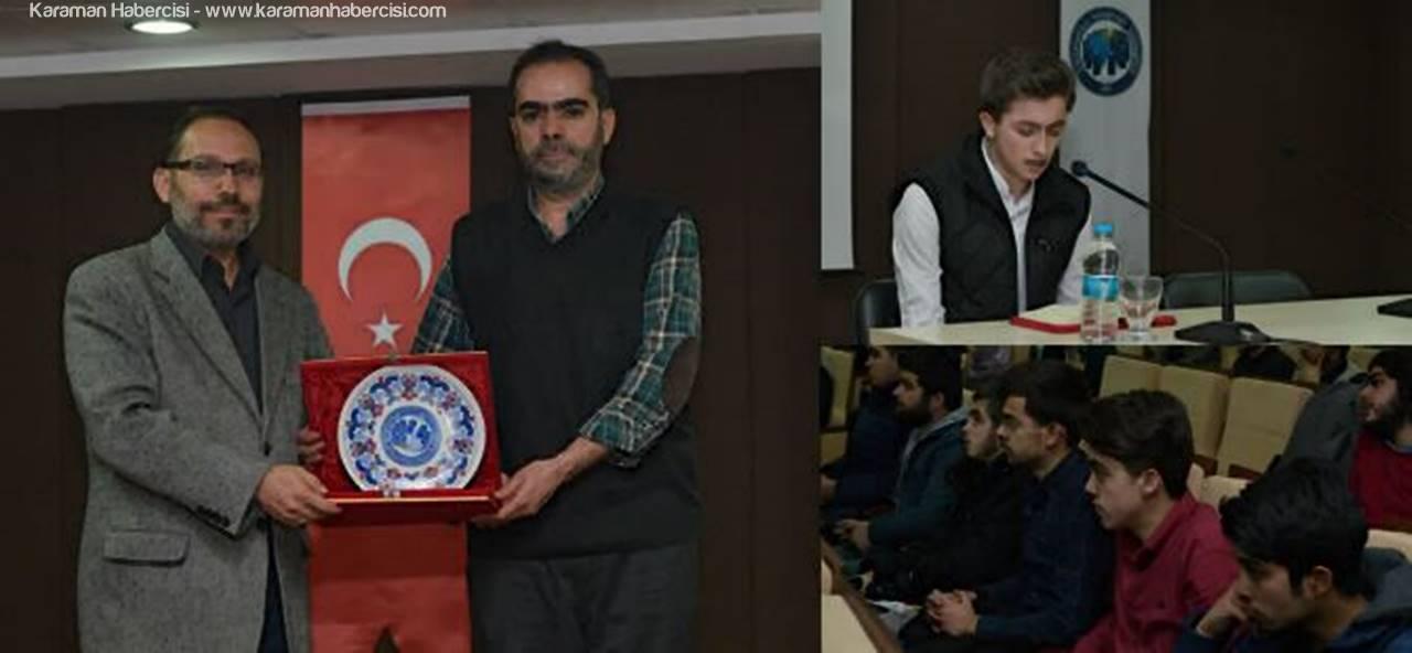 Araştırmacı Yazar İbrahim Uygun, Kuran-ı Kerim ve Sünneti Anlattı