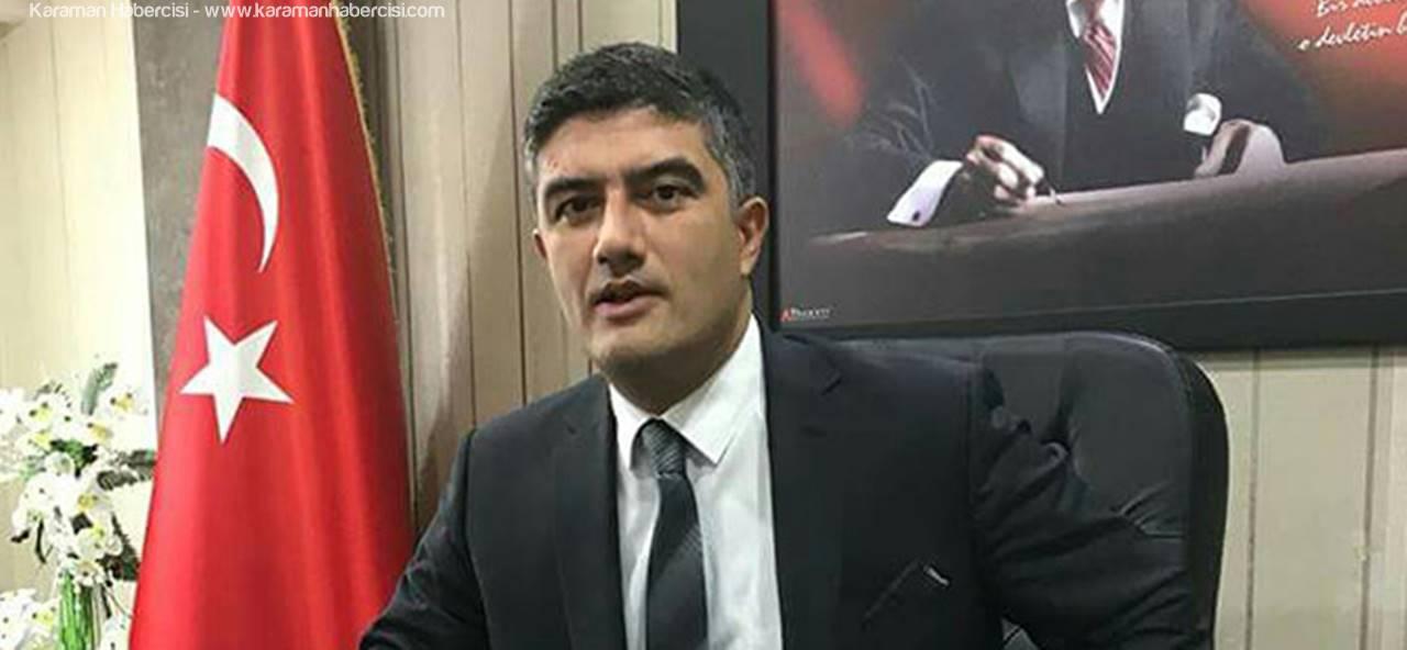 Karaman SMMMO Başkanı Umut Aydın 15 Temmuz Mesajı