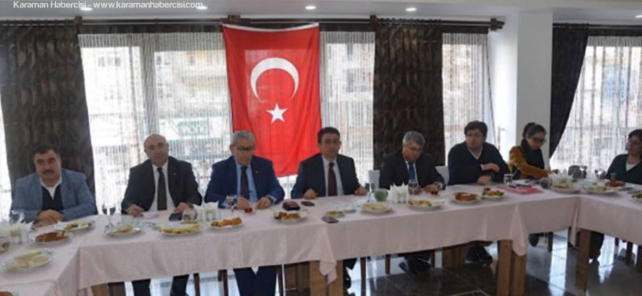 CHP Heyeti, Karaman'da
