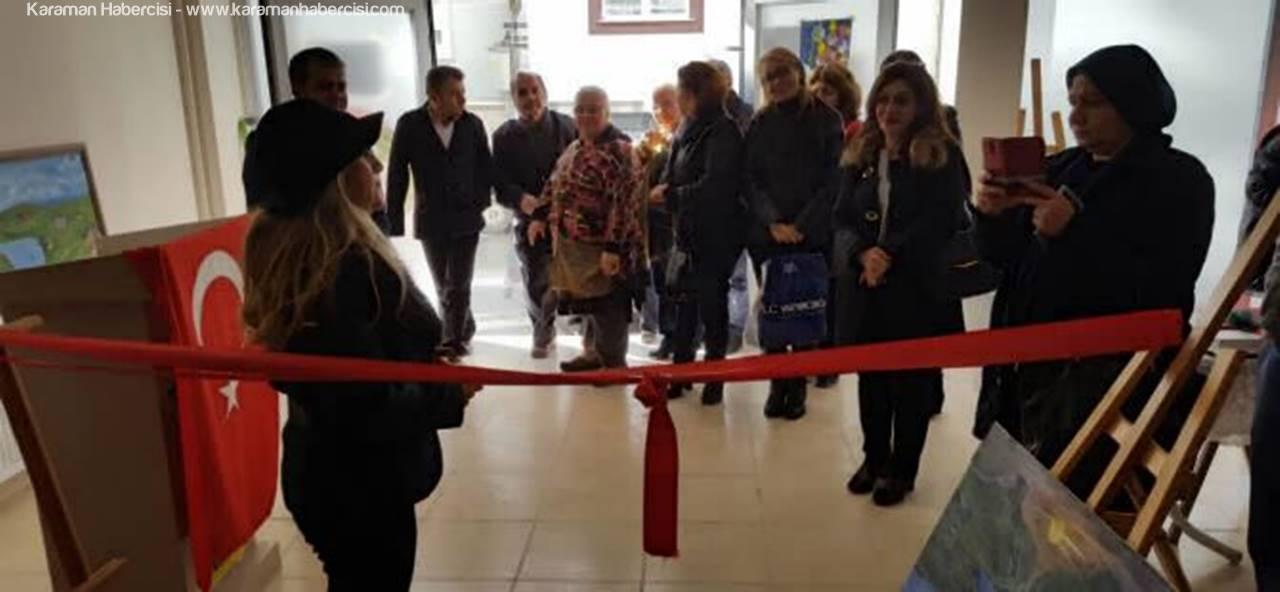 İbrala Kültür Evi'nde Resim Sergisi