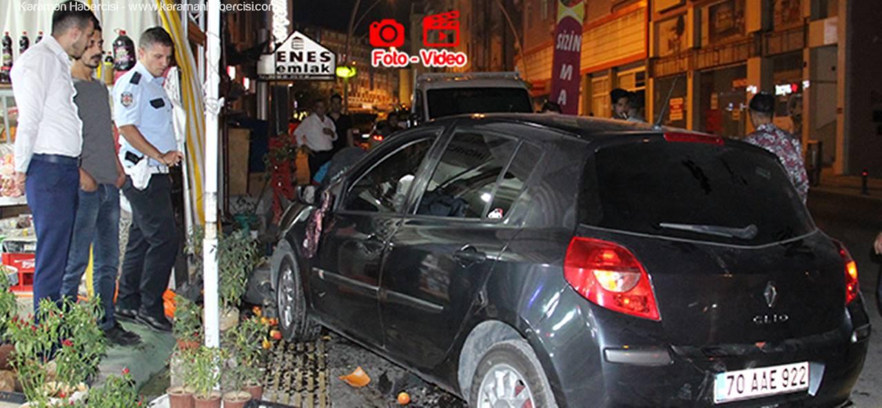 Karaman'da Yaşanan Kazada Yayalar da Büyük Şok Yaşadı