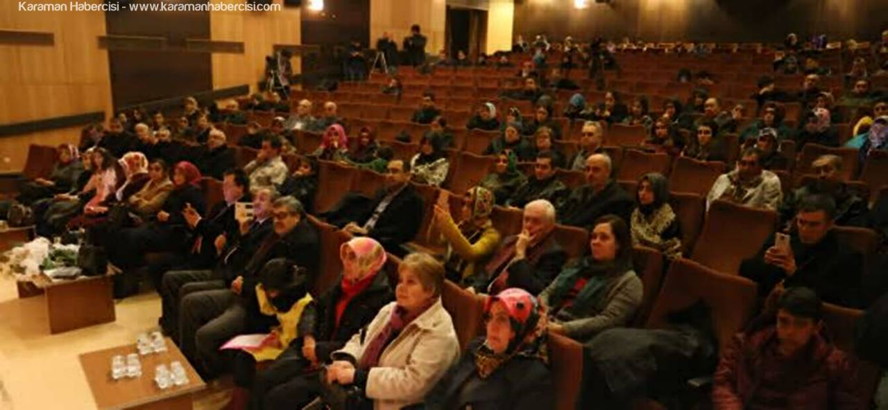 743. Vuslat Yıldönümü Törenleri Karaman'dan Başladı