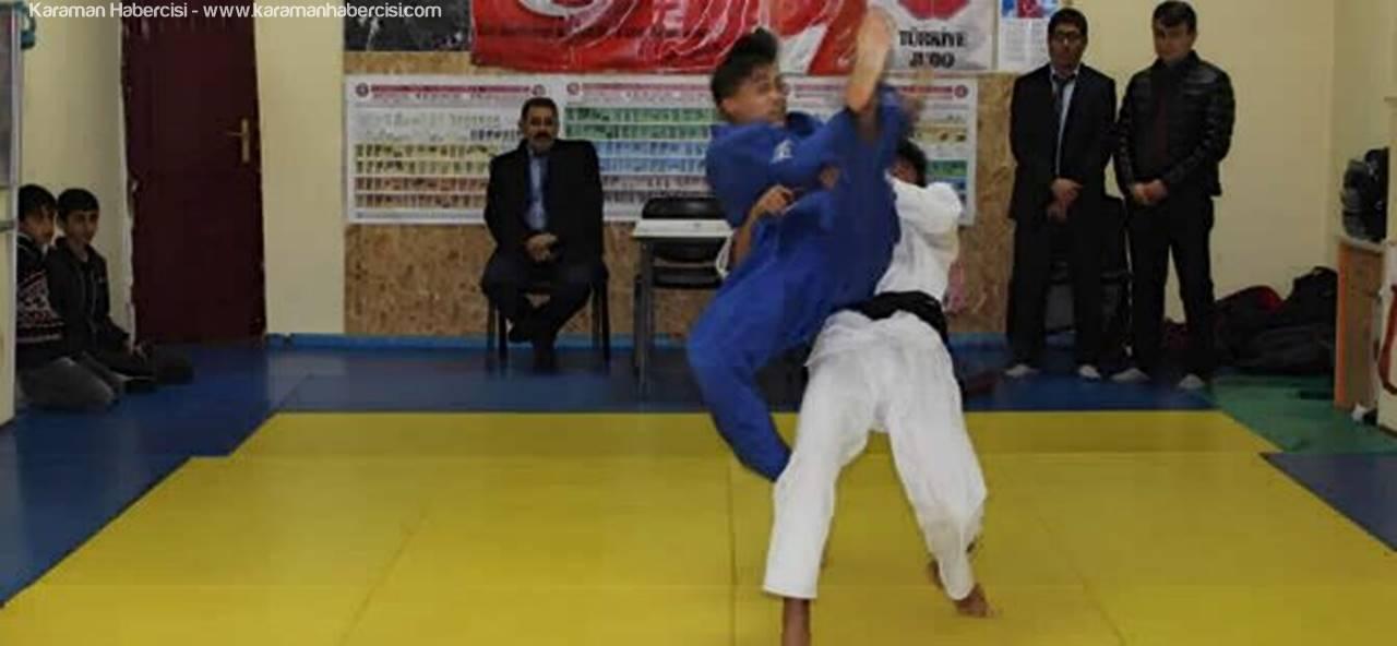 Karaman Okullararası Gençler Judo Müsabakaları Tamamlandı