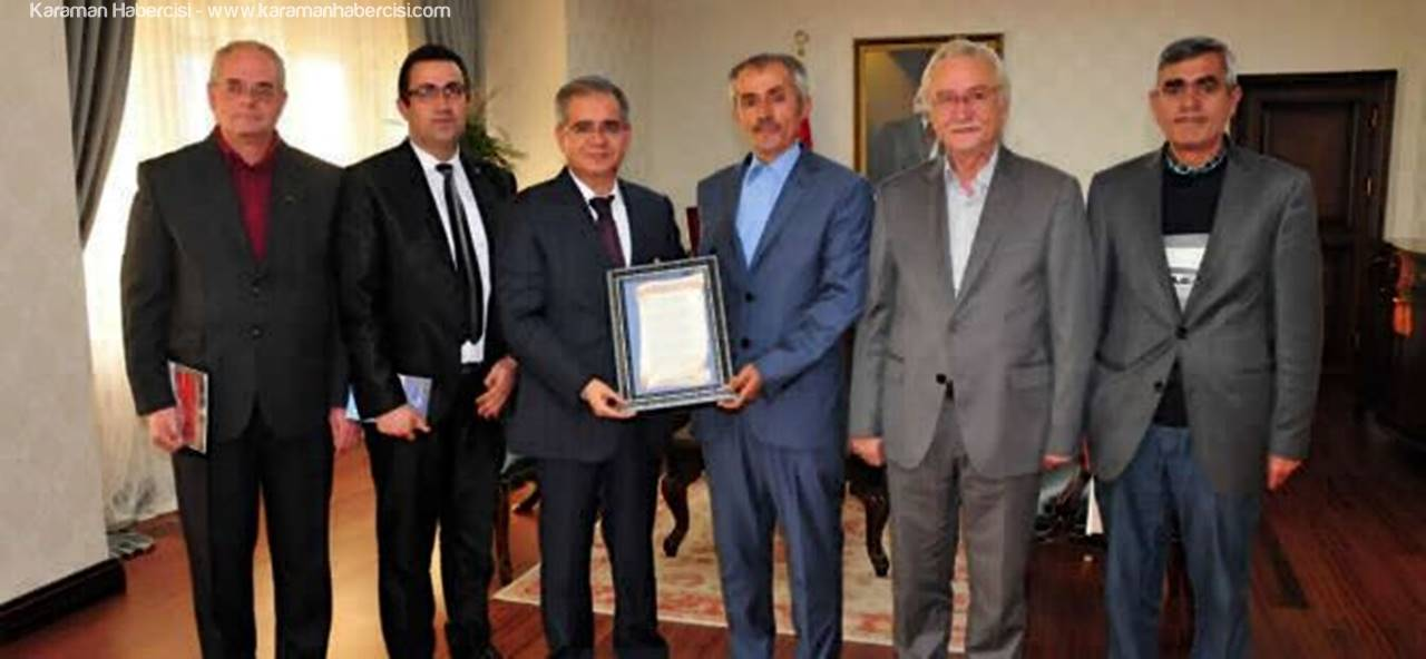Yazarlardan Karaman Valisi Süleyman Tapsız'a Ziyaret
