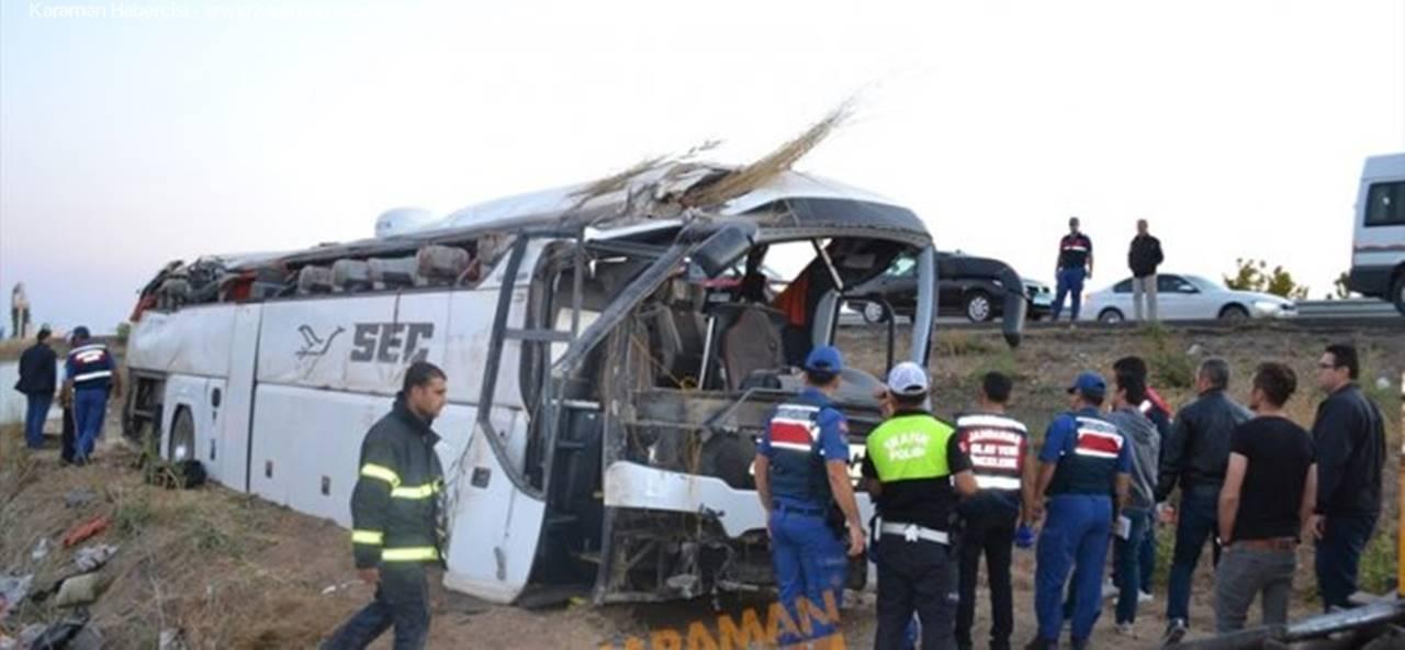 Aksaray'da Yaşanan Otobüs Kazasında Acı Bilanço
