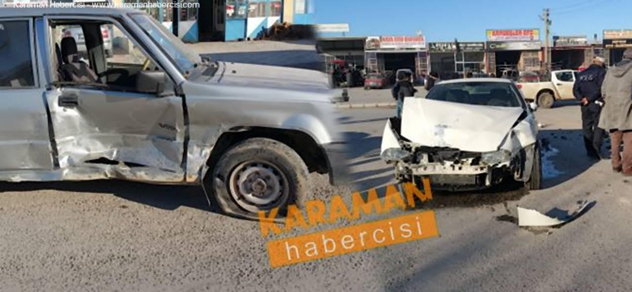 Yeni Sanayi Sitesinde Trafik Kazası