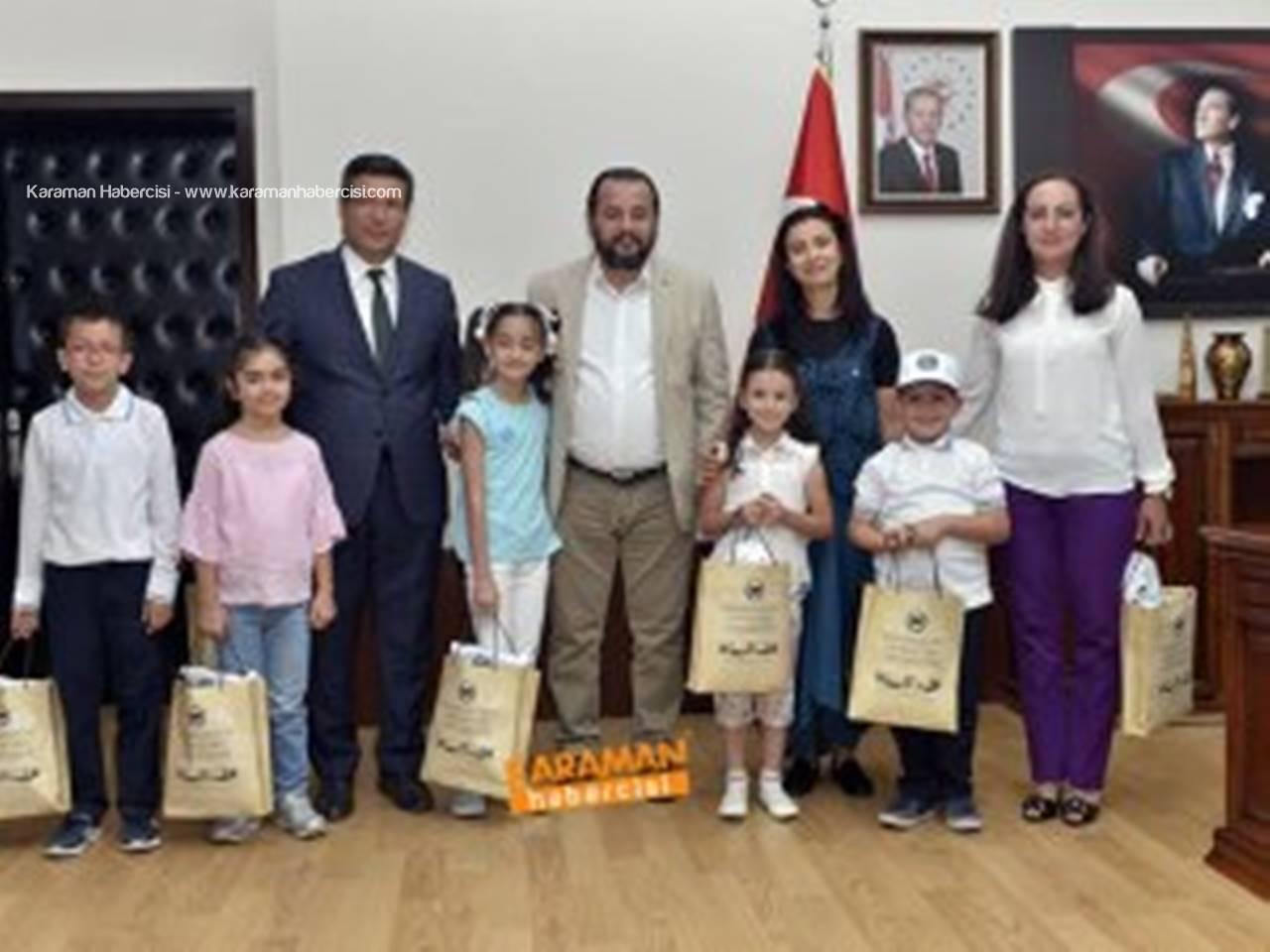 Rektör Akgül, Minik Öğrencileri Ağırladı
