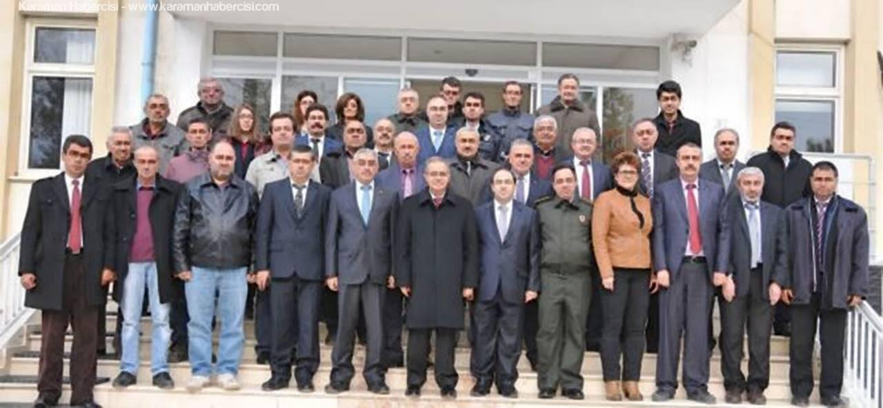Vali Tapsız Kazımkarabekir'de Muhtarları Dinledi