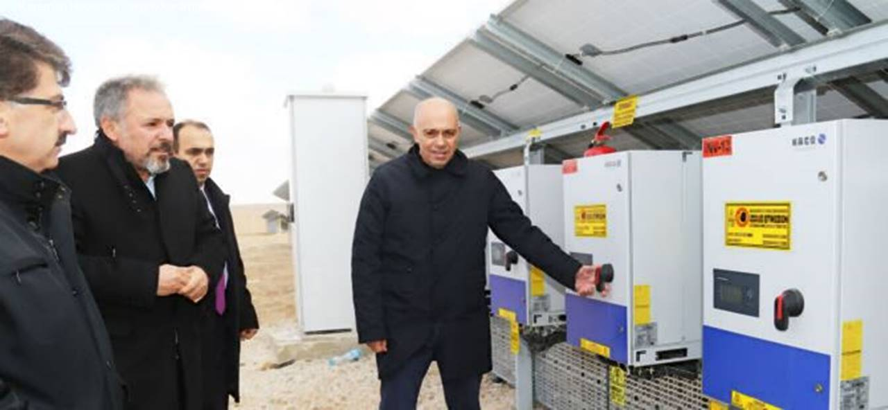 Karaman Belediyesi Elektrik Almaya Başladı