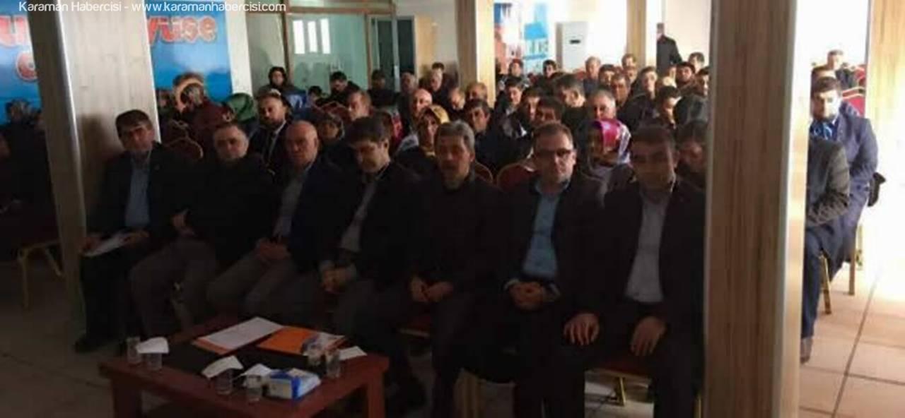 AK Parti Teşkilatı Aralık Ayı Toplantısını Yaptı