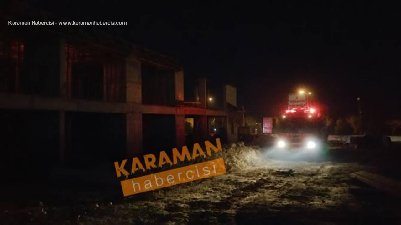 Karaman'da Ekipleri Ayağa Kaldıran İhbar Bakın Ne Çıktı!