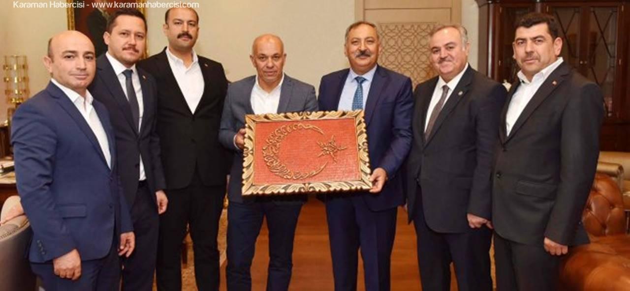 AK Parti Karaman Heyetinden Ankara Ziyaretleri