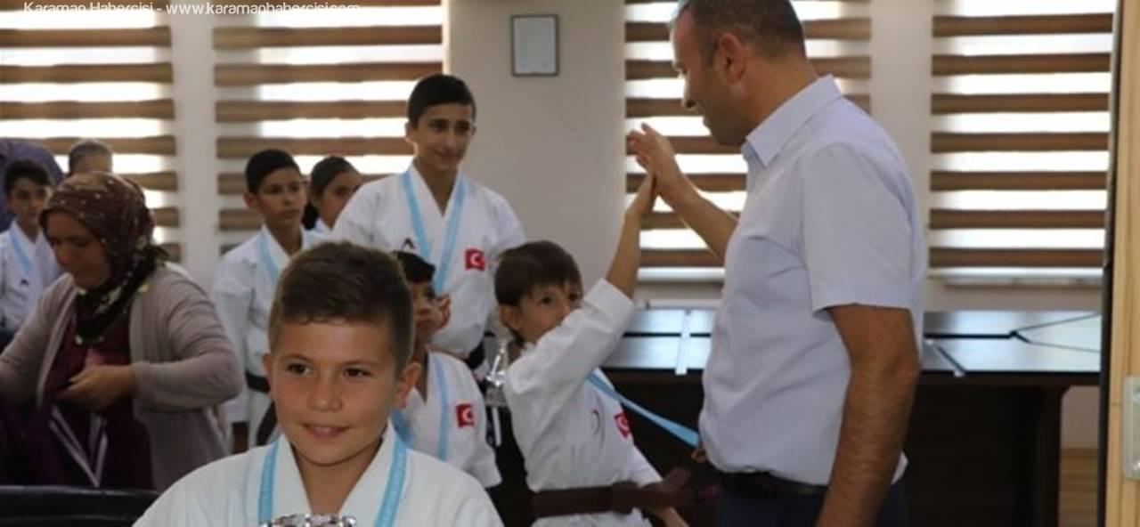 Karatede Karaman'ın Milli Gururu Oldular