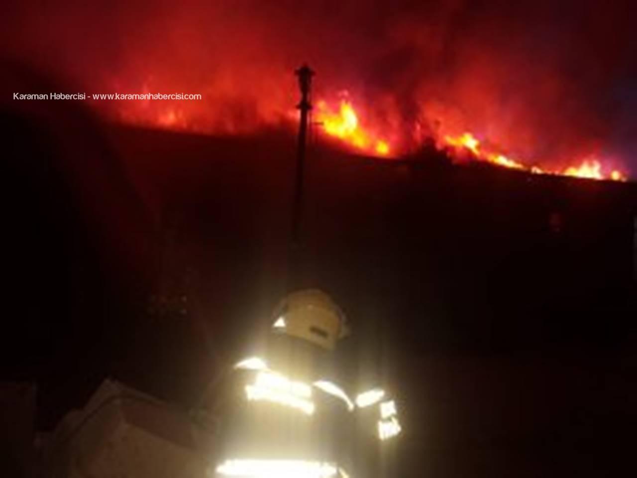 Kız Yurdunun Yemekhanesinin Çatısında Yangın Çıktı