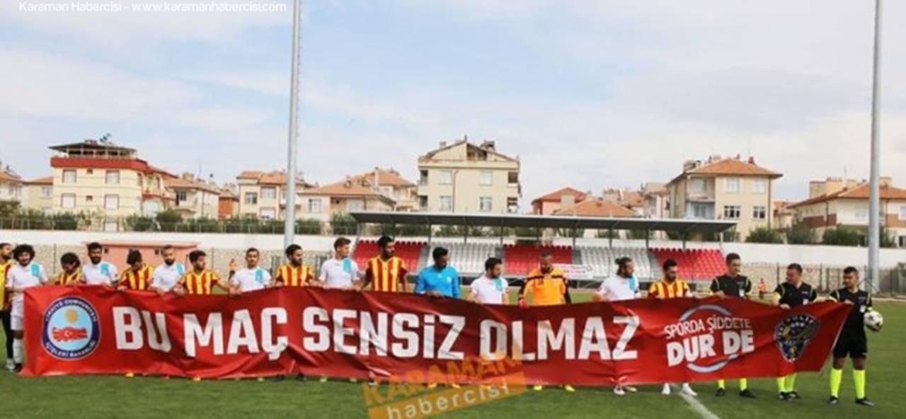Karaman Belediyespor Evinde Kazanmasını Bildi