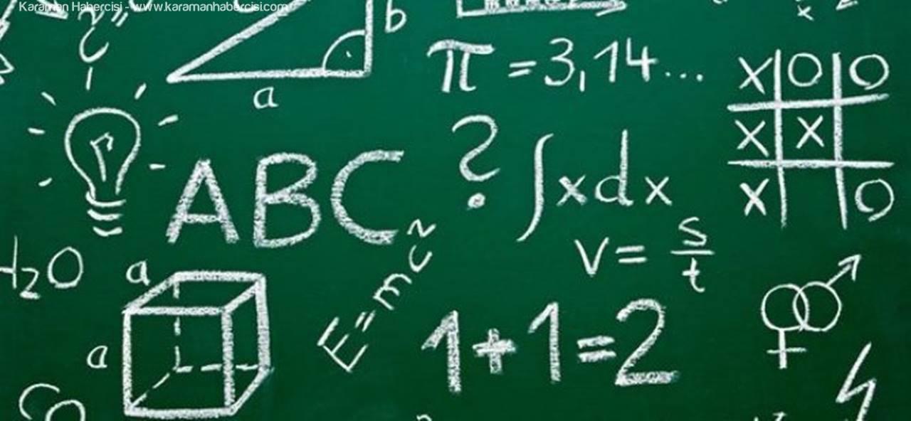 Matematik Çalıştayı Karaman'da