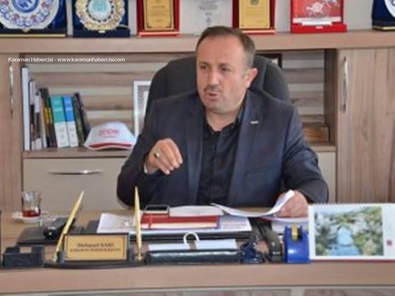 Karaman Önder Başkanı Mehmet Sarı , Büyük Kurultay İçin Hazır Olduklarını Söyledi