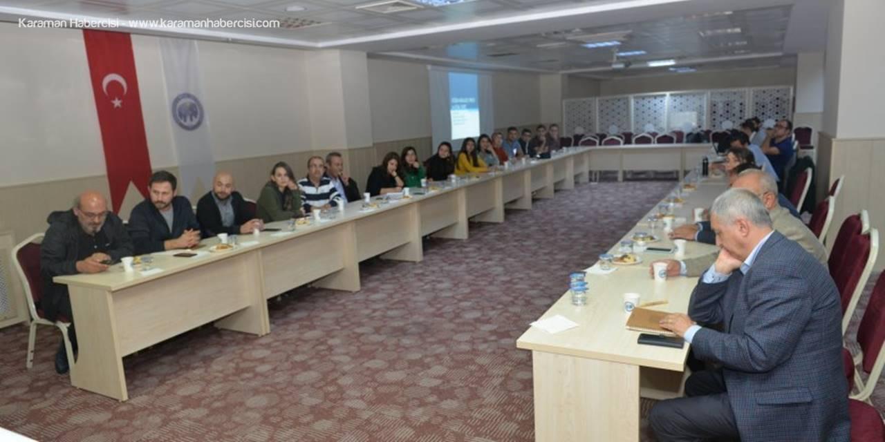 KMÜ'de Sosyal Hizmetler Konuşuldu
