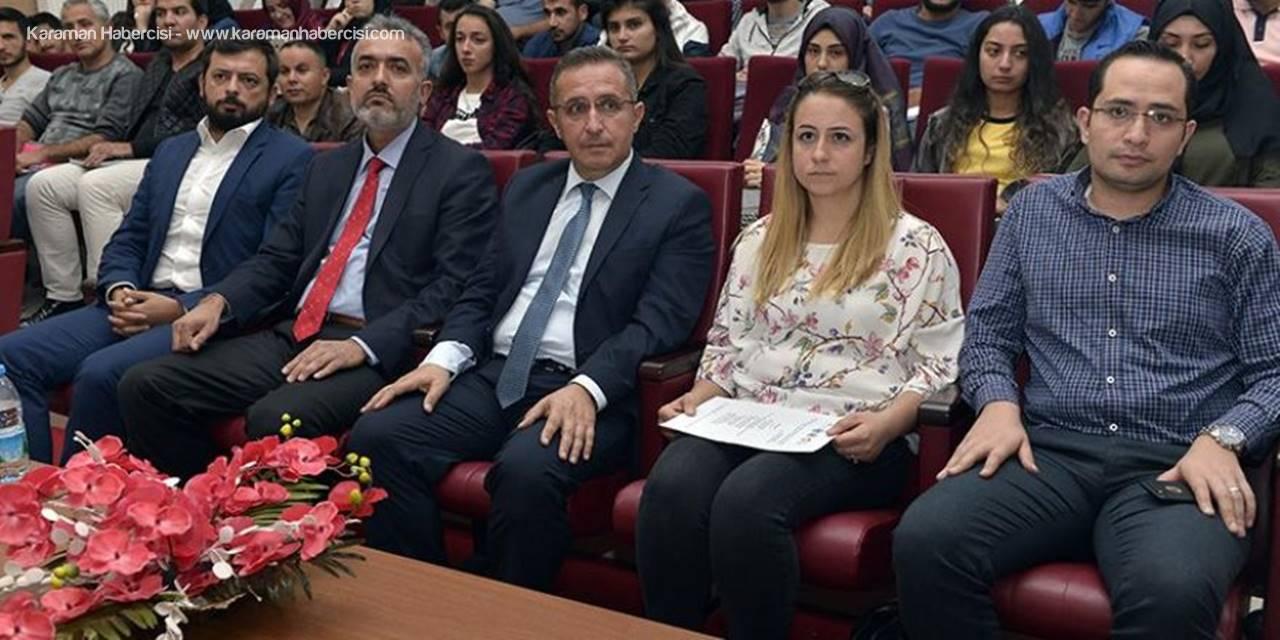 Kop'ta Girişim Programı Öğrencilere Tanıtıldı